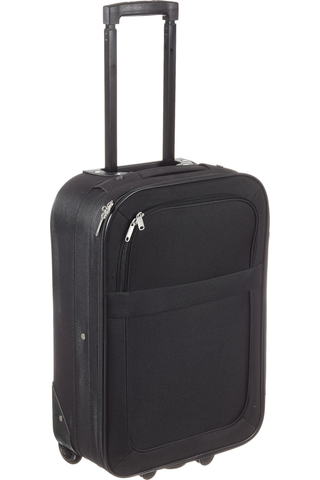 Pehmeä matkalaukku musta 49cm