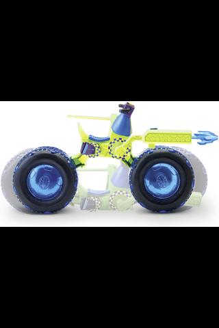 RTMNT moottoripyörä ja figuuri