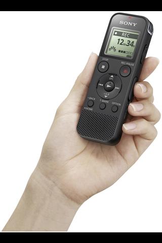 Sony ICD-PX470 sanelin musta