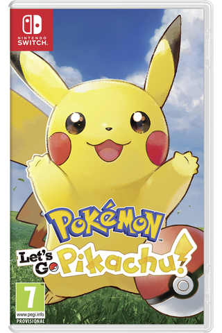 Nintendo Switch Pokémon Let's Go Pikachu!