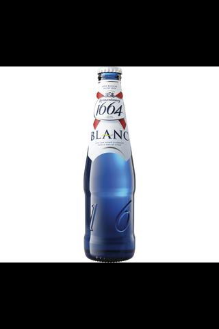 Kronenbourg 1664 Blanc olut 4,5% lasipullo 0,33 L