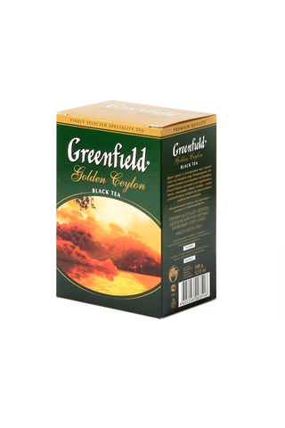 Greenfield 100g Golden Ceylon musta irtotee