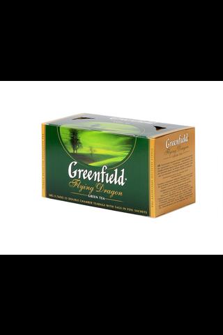 Greenfield 50g Flying Dragon vihreä tee 25ps