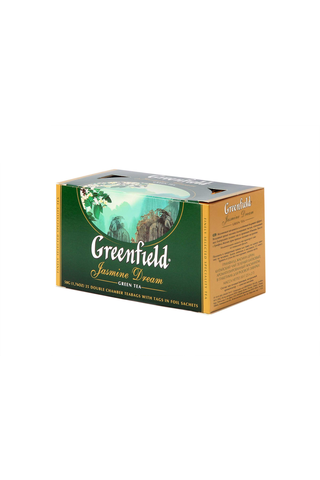 Greenfield 50g Jasmine Dream vihreä tee 25ps