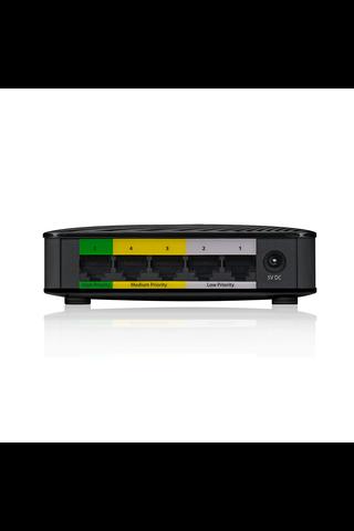 ZyXEL mediakytkin GS-105S V2 musta