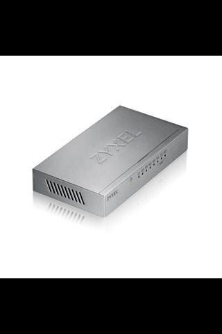 Zyxel ES-108AV3 8-porttinen kytkin 10/100 Mbps metalli