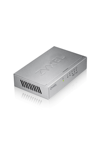 Zyxel GS-105BV3 5-porttinen kytkin gigabit metalli