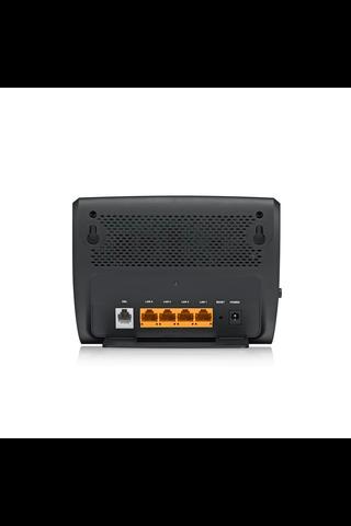 ZyXEL modeemi VMG1312-B10D VDSL2/ADSL2+ musta