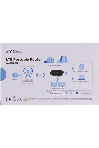 ZyXEL kannettava LTE-modeemi WAH7608