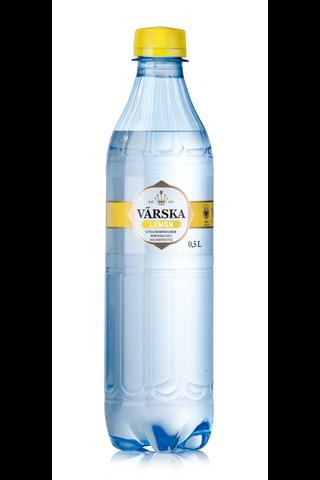 Värska 0,5l Sitruunanmakuinen Mineraalivesi hiilihapollinen
