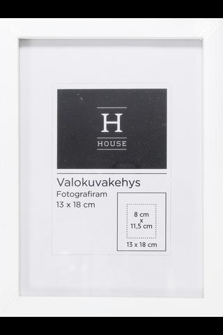 House Leo valokuvakehys 13 x 18 cm, valkoinen