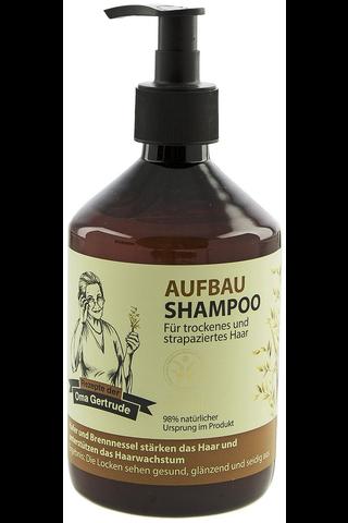 Oma Gertrude 500ml korjaava shampoo kuiville hiuksille