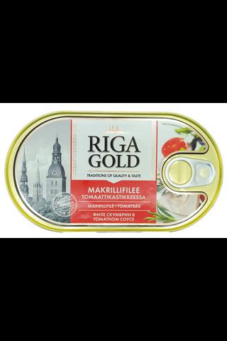 OLD RIGA Makrillifilee tomaattikastikkeessa 190g/114g