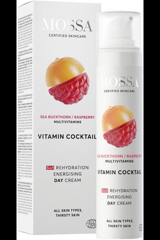 Mossa Vitamin Coctail 5in1 Rehydration Energising Day Cream päivävoide 50ml