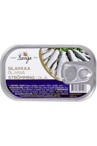 Banga 120g baltic herring in oil