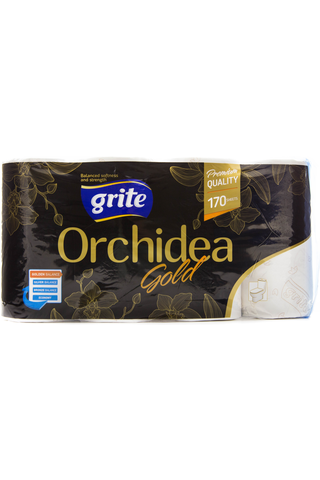 Grite WC-paperi Orchidea Gold 8rll
