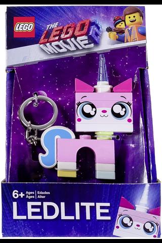 Lego unikitty avaimenperä valolla