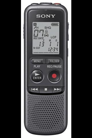 Sony ICD-PX240 sanelin musta