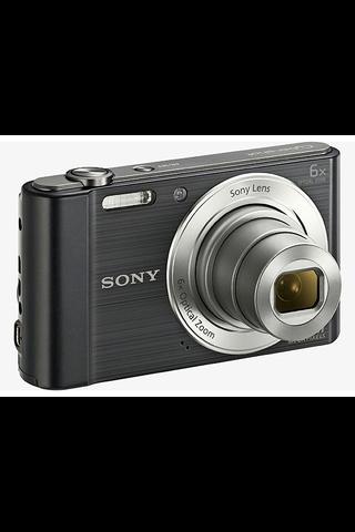 Sony DSC-W810 kompaktikamera 6x optinen zoom