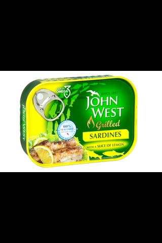 John West 100g Grillattuja sardiineja sitruunalla