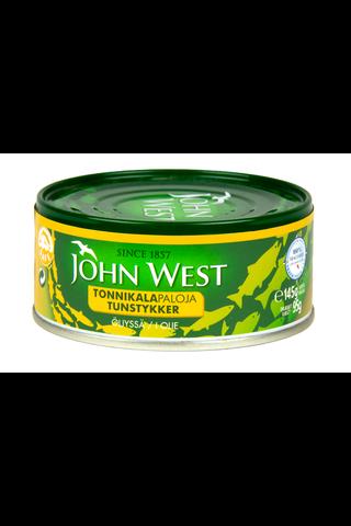 John West 145/95g Tonnikalapala auringonkukkaöljyssä