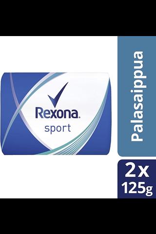 Rexona 2x125g Sport palasaippua
