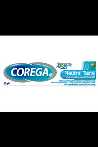 Corega 40g Neutral Taste hammasproteesin kiinnitevoide