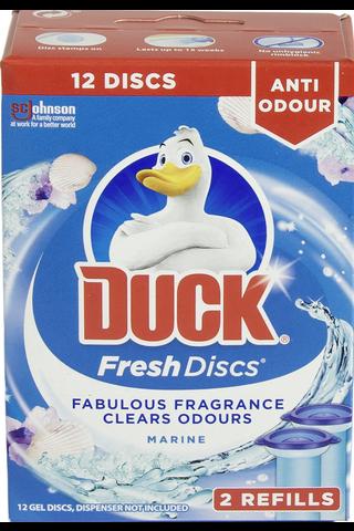 WC DUCK Fresh Discs 2x36ml Marine täyttöpakkaus