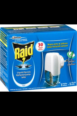 Raid 30yötä Liquid Electric elektroninen nestemäinen hyttystorjuntalaite