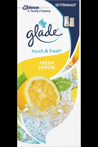 Glade Touch & Fresh 10ml fresh lemon täyttöpakkaus