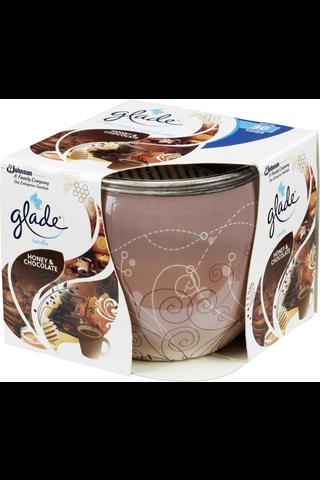 Glade 30h honey&chocolate tuoksukynttilä