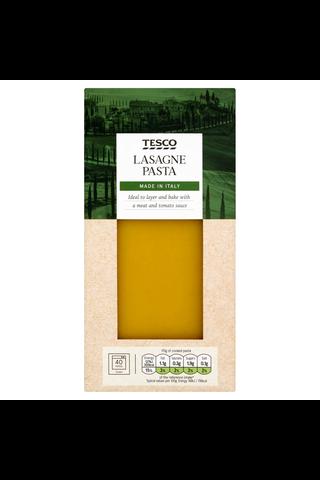 Tesco 500g Lasagne Pasta