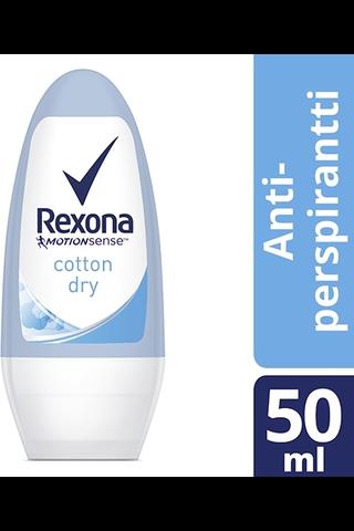 Rexona 50ml Cotton roll on