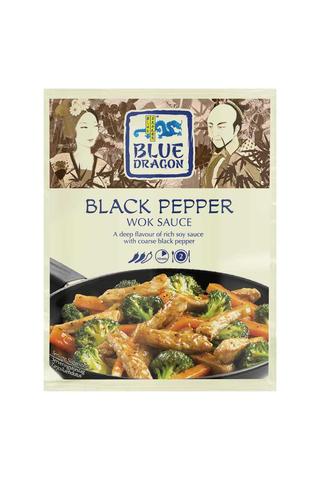 Blue Dragon Black pepper wok-kastike 120g