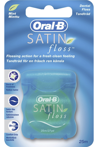 ORAL-B Satin Floss 25m hammaslanka