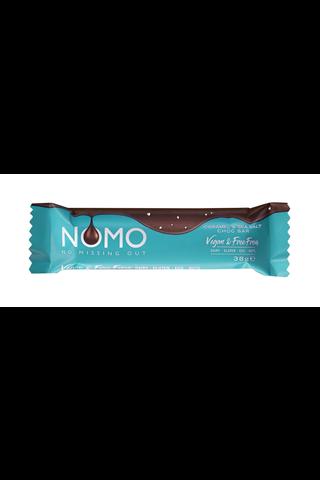 Nomo Vegan & Free From Caramel & Sea Salt vaalea kaakaomakeinen 38g