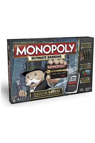 Hasbro Gaming Monopoly Ultimate Banking lautapeli