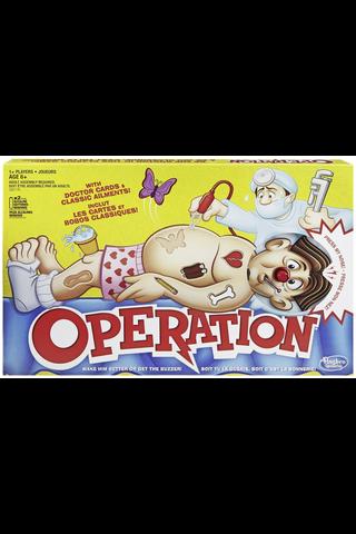 Hasbro Gaming Operation Classic peli