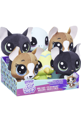 Lps bobble head plush ast