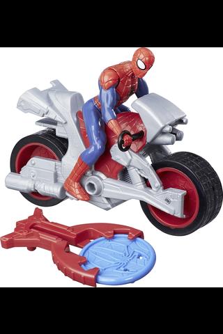 Marvel Spider-Man Blast'n'Go Kid Arachnid lelu