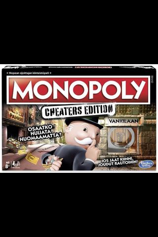 Hasbro Gaming Monopoly Cheaters Edition perhelautapeli