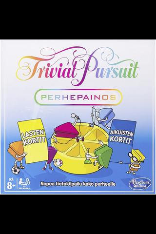 Hasbro Gaming Trivial Pursuit perhepainos lautapeli