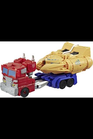 Transformers  Cyberverse Ark Power  Optimus Prime, iso Transformers robootti