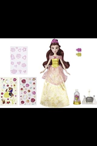 Disney Pincess  Belle-nukke tarroilla 30 cm