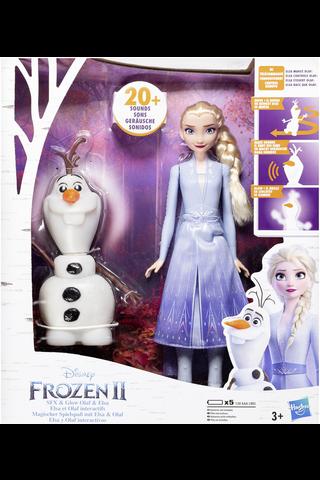 Frozen 2 Olaf ja Elsa nuket