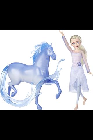 Frozen 2 Elsa ja Nokk- hevonen