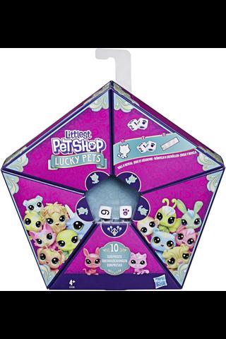Littlest Pet Shop Lucky Pets Fortune Crew, 4 eläinhahmoa ennustus-teemalla
