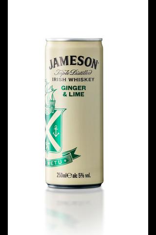 Jameson Ginger&Lime 5% 250ml