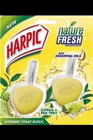 Harpic 2kpl WC-raik sitruuna
