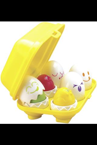Tomy Yllätys kananmunat kennossa